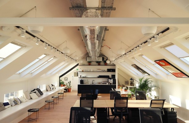 Camden Lock Place NW1 office space – Private Office (different sizes available).