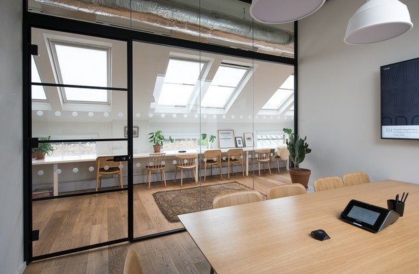 Camden Lock Place NW1 office space – Meeting/Boardroom.