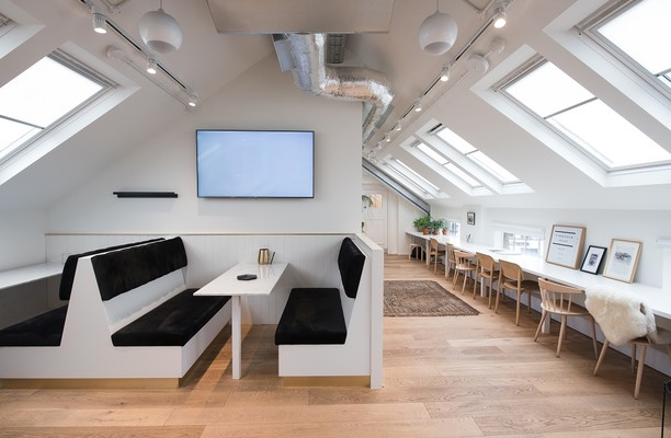 Camden Lock Place NW1 office space – Break Out Area