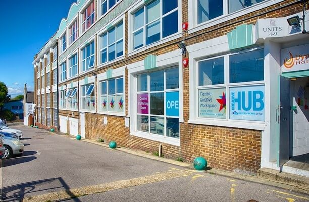 Fonthill Road Hove office space – Building External