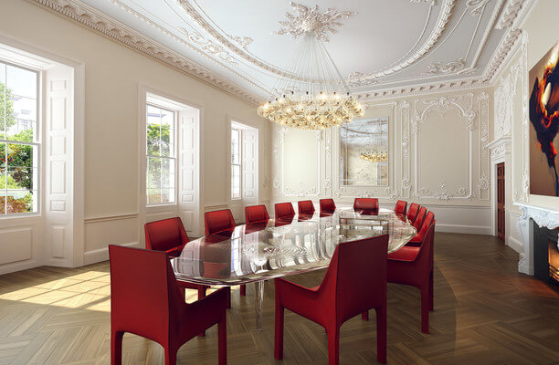 St James's SW1 office space – Meeting/Boardroom.
