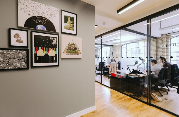 Shaftesbury Avenue W1 office space – Hallway