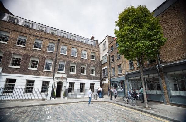 Dallington Street EC1 office space – Building External