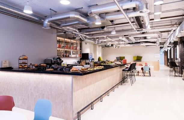 Dallington Street EC1 office space – Restaurant
