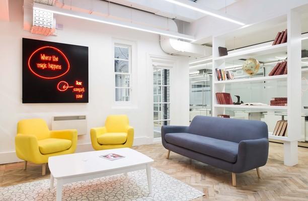 Hatton Garden EC1 office space – Break Out Area