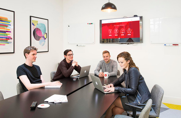 Kenrick Place W1 office space – Meeting/Boardroom.
