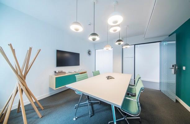 New Cavendish Street W1 office space – Meeting/Boardroom.