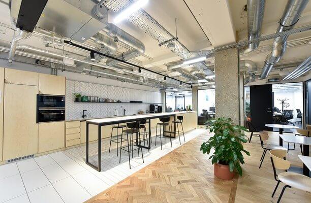 Bloomsbury Way WC1 office space – Kitchen