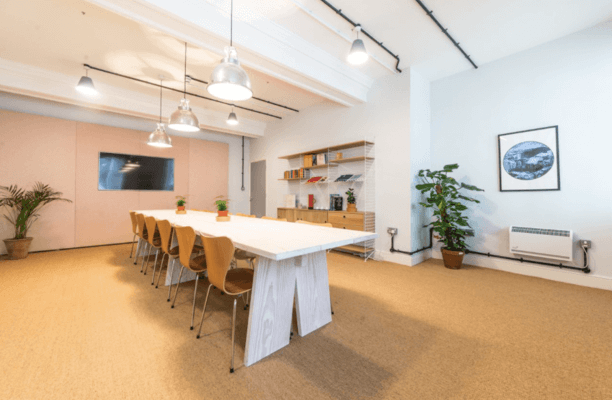 Oxford Street W1 office space – Meeting/Boardroom.