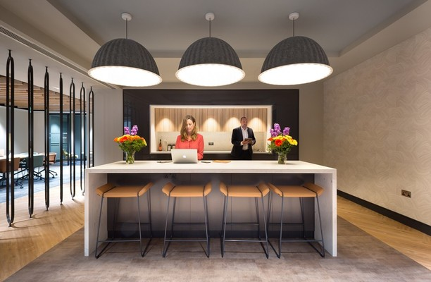 Chancery Lane WC2A office space – Kitchen