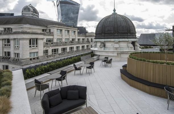 King William Street EC4 office space – Outdoor Area