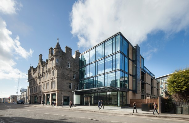 Fountainbridge EH1 office space – Building External