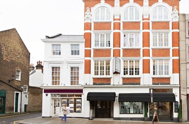 Kensington Church Street W8 office space – Building External