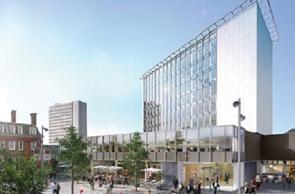 Chertsey Road GU21, GU22 office space – Building External
