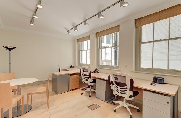 Old Queen Street SW1 office space – Private Office (different sizes available).