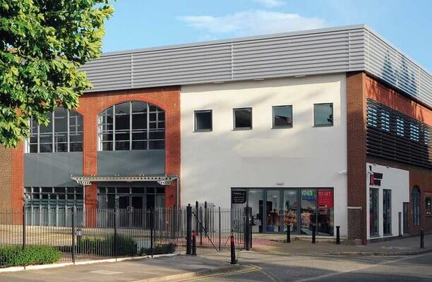 Bruton Way GL1 office space – Building External