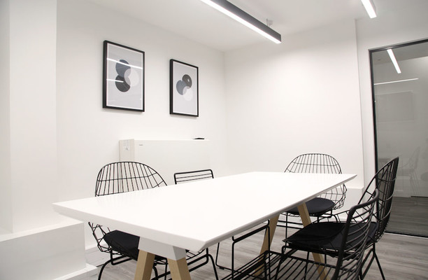 David Mews NW1 office space – Meeting/Boardroom.