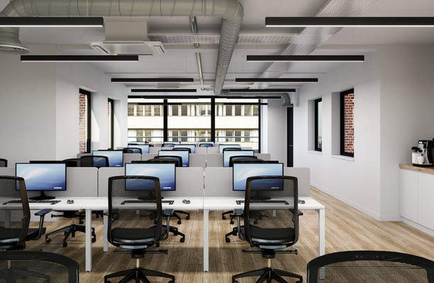 Newman Street W1 office space – Private Office (different sizes available).