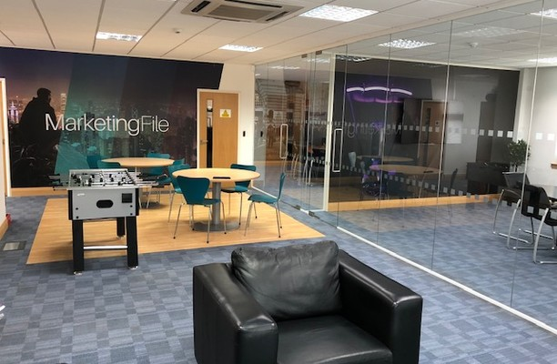 Whittle Way SG13 office space – Break Out Area