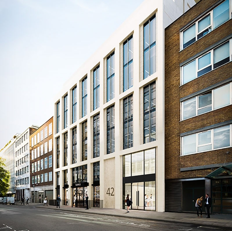 Netflix's new office on Berners Street